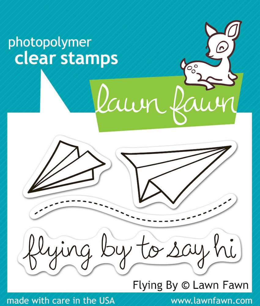 Lawn Fawn FLYING BY Clear Stamps zoom image