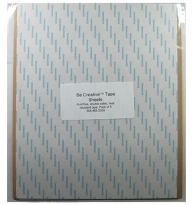 Be Creative Tape TAPE SHEET Double Sided Pack of 5 zoom image