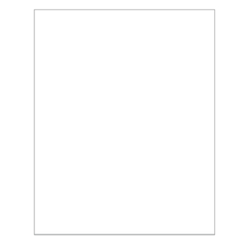 Bazzill MARSHMALLOW Card Shoppe Heavy Weight 8.5 x 11 Cardstock