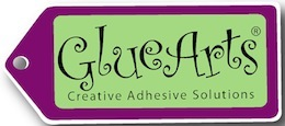 Glue Arts logo