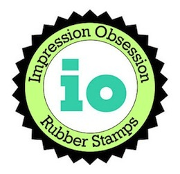 Impression Obsession Late For Cake Cling Stamp