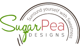 SugarPea Designs logo