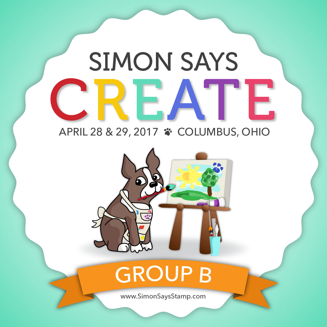 Create Group B Ticket brand image