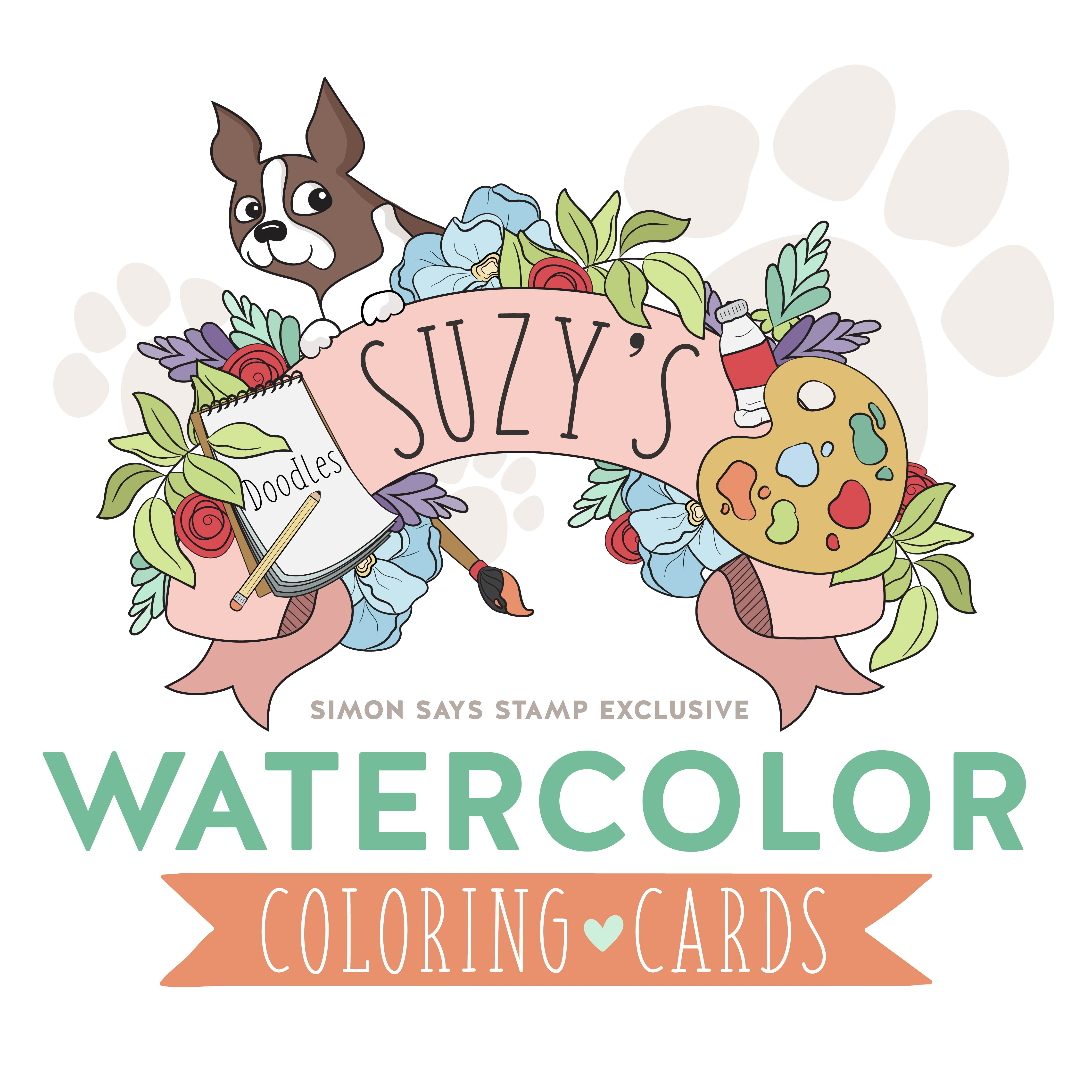 Suzy's Watercolor Cards brand image