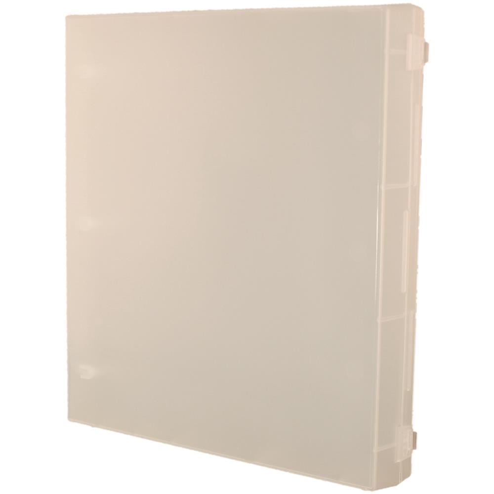 Crafter's Companion FULL SIZE CLEAR ENCLOSED STAMP BINDER EZ Mount SS21 zoom image