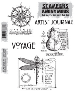 Stampers Anonymous Cling Rubber Stamps CLASSICS #1 SCF001