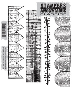 Stampers Anonymous Cling Rubber Stamps CLASSICS #6 SCF006 zoom image