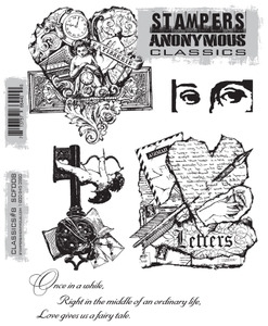 Stampers Anonymous Cling Rubber Stamps CLASSICS #8 SCF008 zoom image