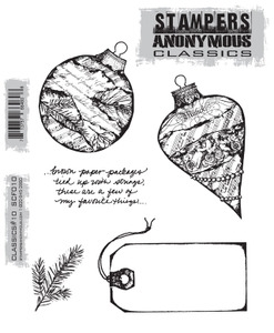 Stampers Anonymous Cling Rubber Stamps CLASSICS #10 SCF010
