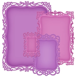 S5-148 Spellbinders DECORATIVE LABELS Eight Dies Preview Image