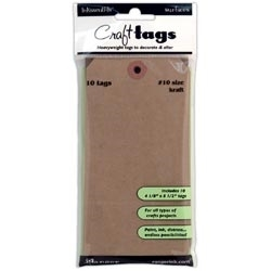 Ranger #10 KRAFT TAGS 4.125 x 8.5 Inkssentials Surfaces ISB35329*