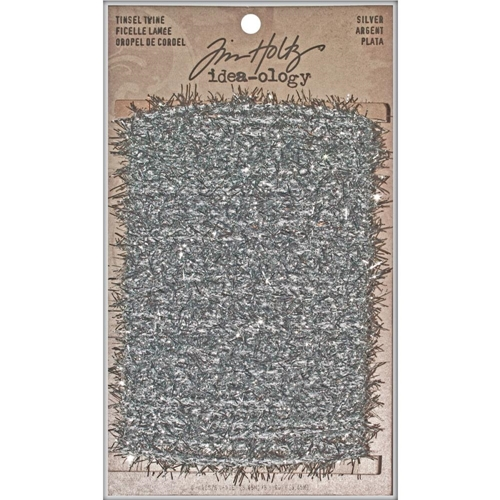 Tim Holtz Idea-ology SILVER TINSEL TWINE TH93025 Preview Image