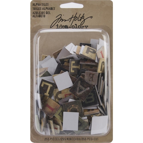 Tim Holtz Idea-ology ALPHA TILES TH93046 Preview Image
