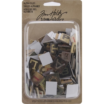 Tim Holtz Idea-ology ALPHA TILES TH93046