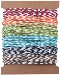 Tim Holtz Idea-ology PAPER STRING  STRIPES Twine TH93043 zoom image