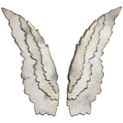 Tim Holtz Sizzix Die LAYERED ANGEL WINGS Bigz 658259 Preview Image