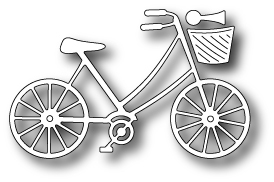 Memory Box BRAND NEW BICYCLE Craft DIE 98404 Preview Image