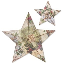 Tim Holtz Sizzix Die 3-D STAR BRIGHT Bigz 658265 Preview Image