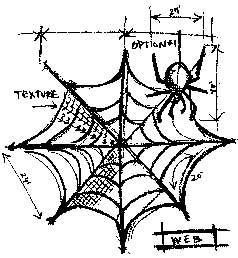 Tim Holtz Rubber Stamp WEB SKETCH Stampers Anonymous P1-1943 zoom image