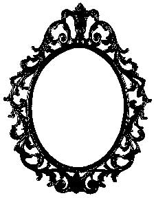 Tim Holtz Rubber Stamp ORNATE FRAME Stampers Anonymous P1-1956
