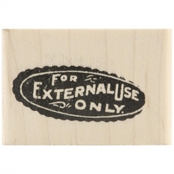 Tim Holtz Rubber Stamp EXTERNAL Stampers Anonymous D2-1957