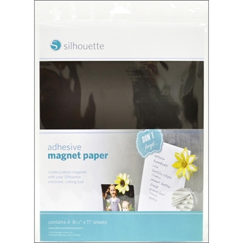 Silhouette ADHESIVE MAGNET PAPER Specialty Media