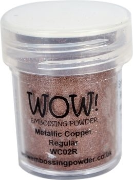 WOW Embossing Powder COPPER Regular WC02R