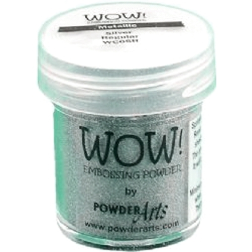 WOW Embossing Powder METALLIC SILVER REGULAR WC05R Preview Image