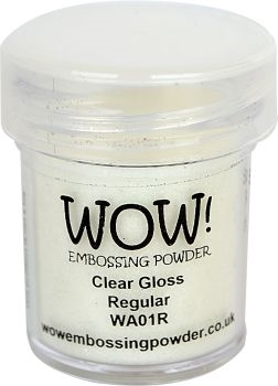 WOW Embossing Powder CLEAR GLOSS REGULAR WA01R zoom image