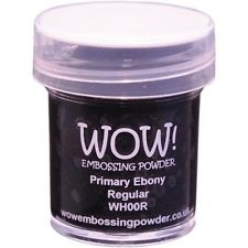 WOW Embossing Powder PRIMARY EBONY REGULAR WH00R zoom image
