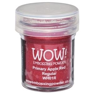 WOW Embossing Powder PRIMARY APPLE RED Regular WH01R
