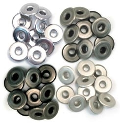 We R Memory Keepers COOL METAL WIDE Eyelets 41596-1