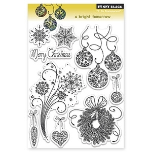 Penny Black Clear Stamps A BRIGHT TOMORROW 30-130*