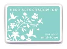 Hero Arts Shadow Ink Pad TIDE POOL Mid-Tone AF223 zoom image