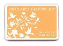 Hero Arts Shadow Ink Pad ORANGE SODA Mid-Tone AF224