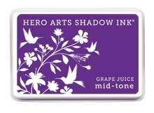 Hero Arts Shadow Ink Pad GRAPE JUICE Mid-Tone AF227