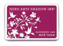 Hero Arts Shadow Ink Pad RASPBERRY JAM Mid-Tone AF228 zoom image