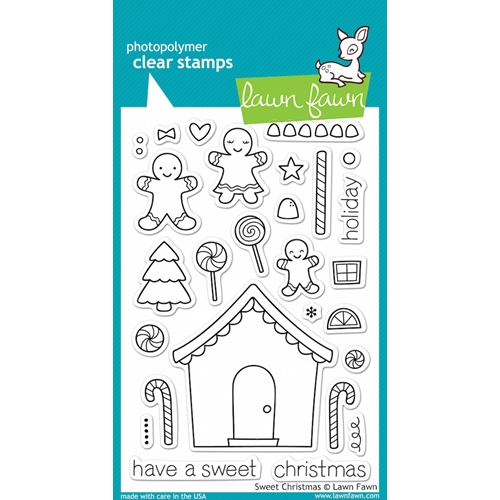 Lawn Fawn SWEET CHRISTMAS Clear Stamps Preview Image