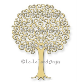 La-La Land Crafts HEART TREE Steel Dies 8010