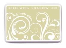 Hero Arts Shadow Ink Pad SOFT OLIVE Mid-Tone AF222