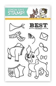 Simon Says Clear Stamps STYLISH SIMON sss09123 Preview Image