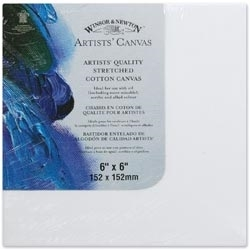 Winsor Newton 6 X 6 ARTIST CANVAS Stretched Cotton 6005101