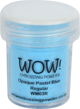 WOW Embossing Powder OPAQUE PASTEL BLUE Regular WM03R zoom image