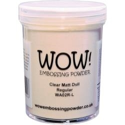 WOW Embossing Powder CLEAR MATTE DULL LARGE Regular WA02R-L Preview Image