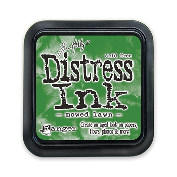 Distress ink pad Mowed Lawn