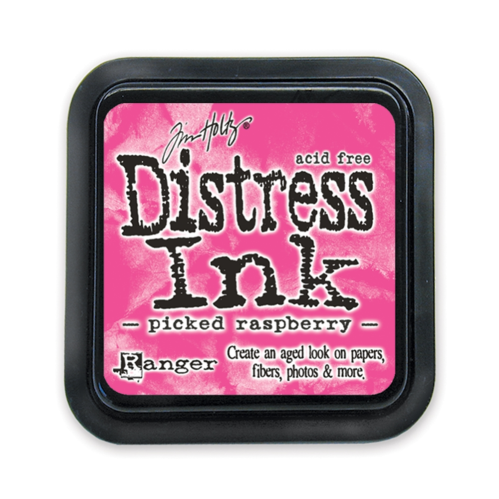 Tim Holtz Distress Ink Pad PICKED RASPBERRY Ranger TIM34995 zoom image