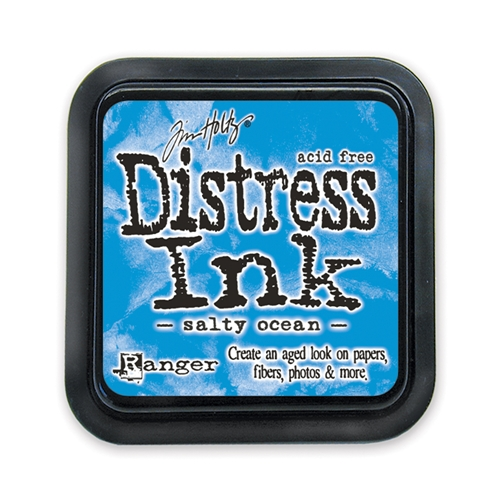 Tim Holtz Distress Ink Pad SALTY OCEAN
