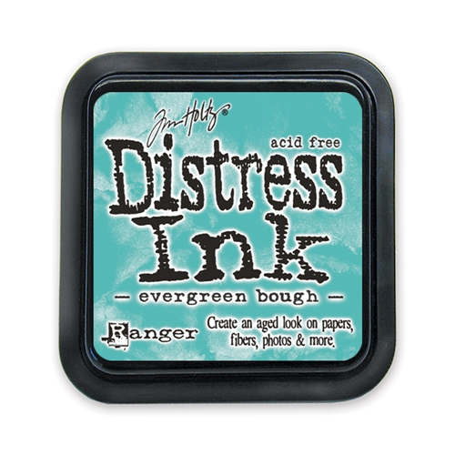 Tim Holtz Distress Ink Pad EVERGREEN BOUGH Ranger TIM32854 Preview Image