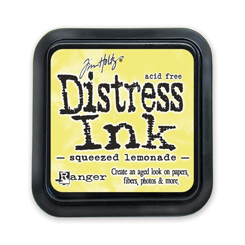 Tim Holtz Distress Ink Pad Squeezed Lemonade