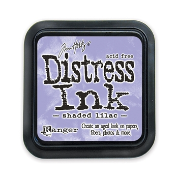 Tim Holtz Distress Ink Pad SHADED LILAC Ranger TIM34957